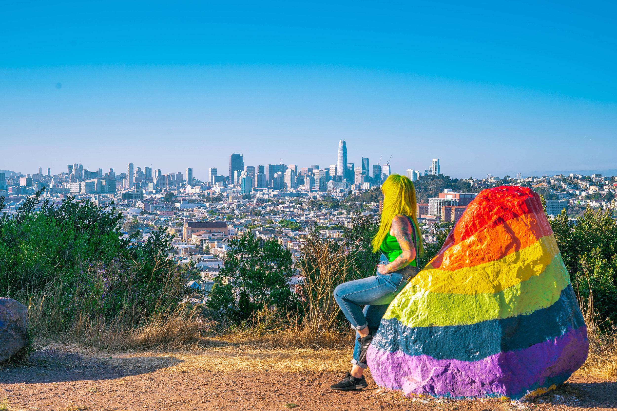 Bernal Heights- San Fransisco California- The Chaos Collective