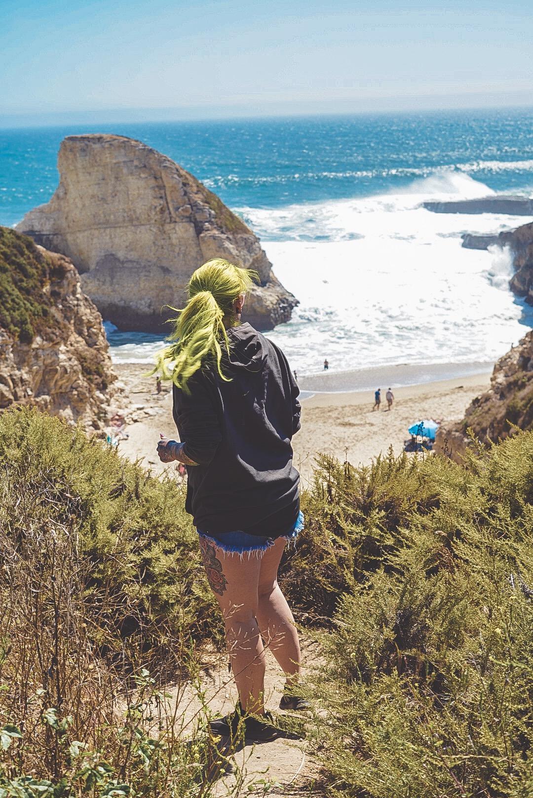 Shark Fin Cove- Highway 1 California-The Chaos Collective