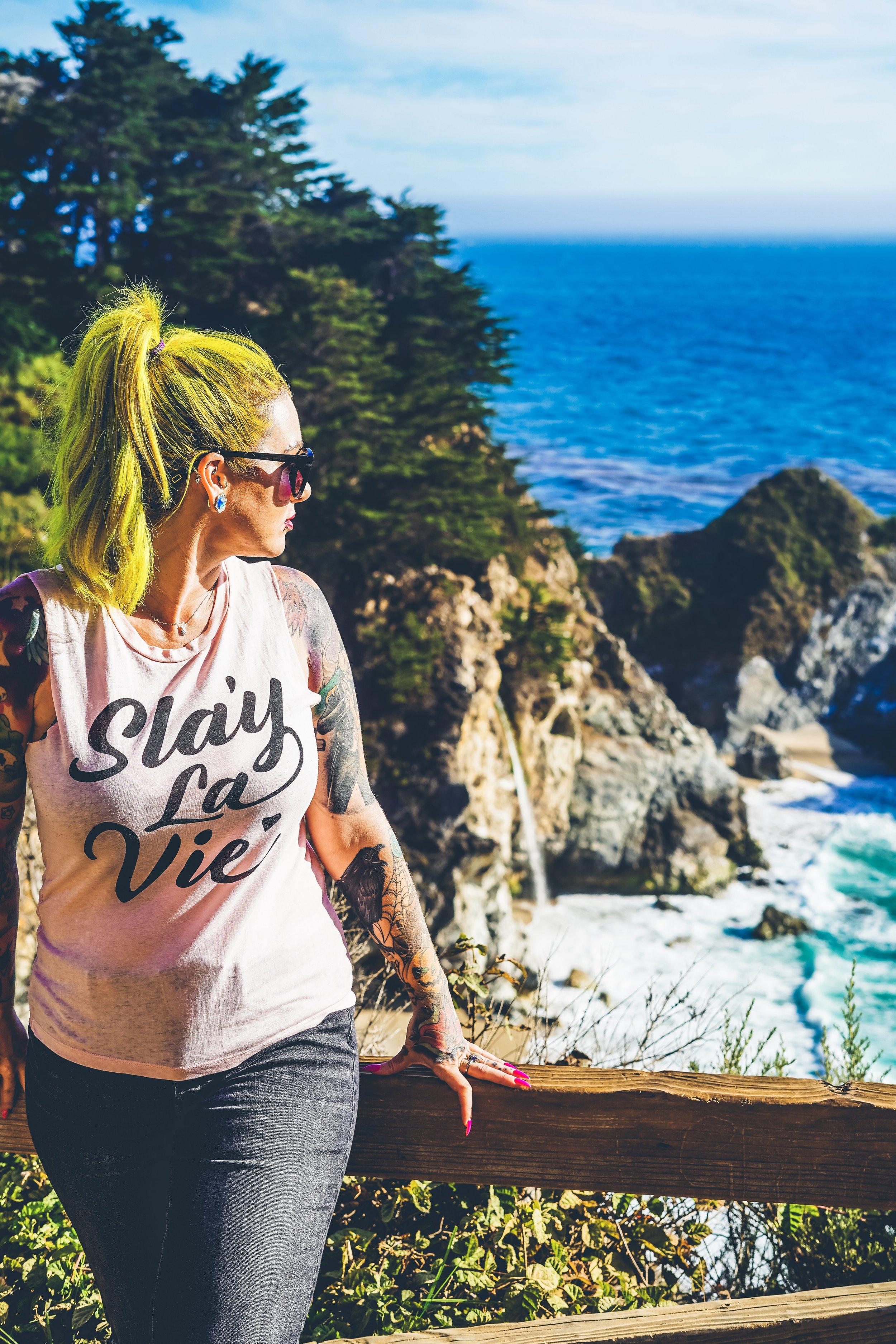 McWay Falls-Big Sur California-The Chaos Collective