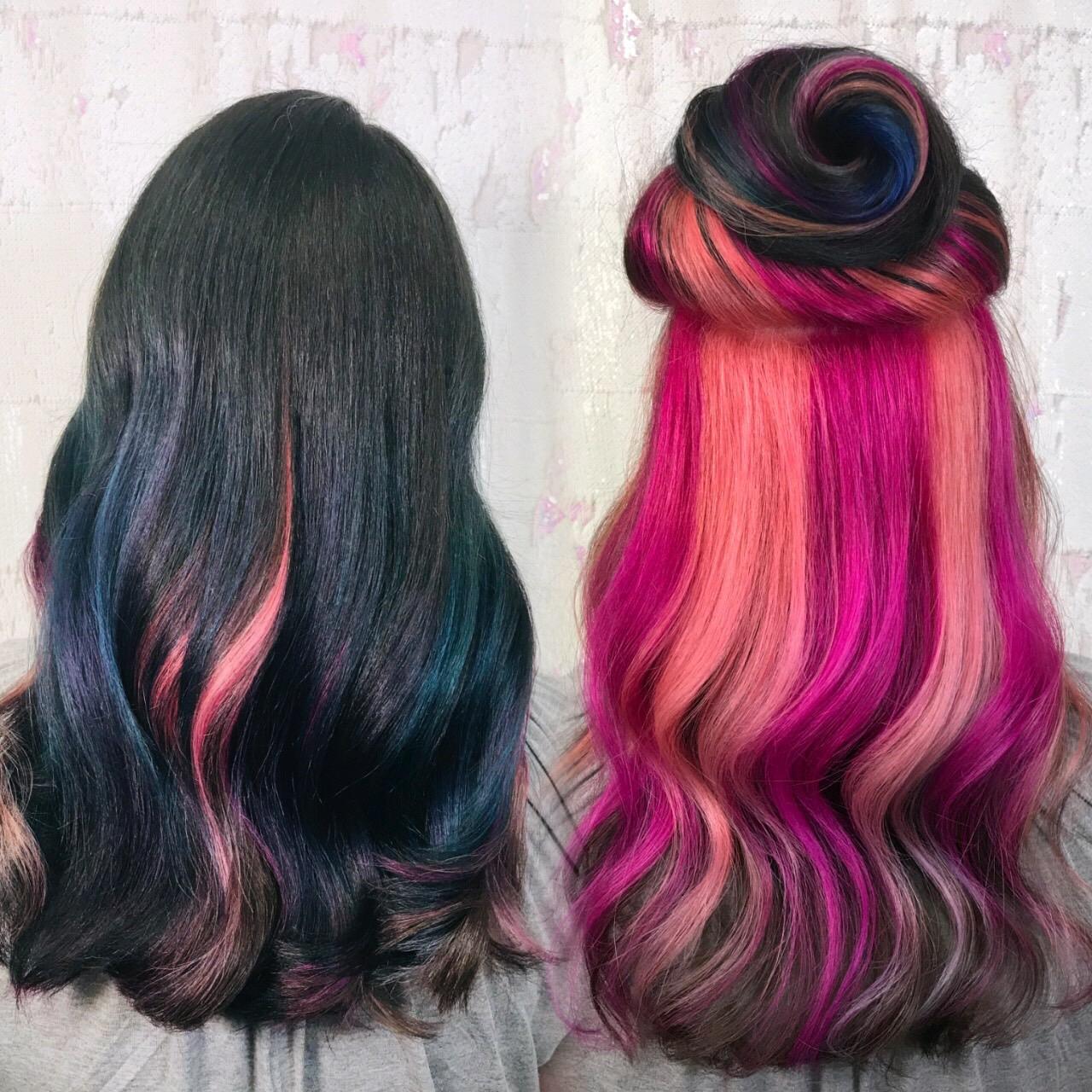 Hidden Rainbow Haircolor-Cryistal Chaos