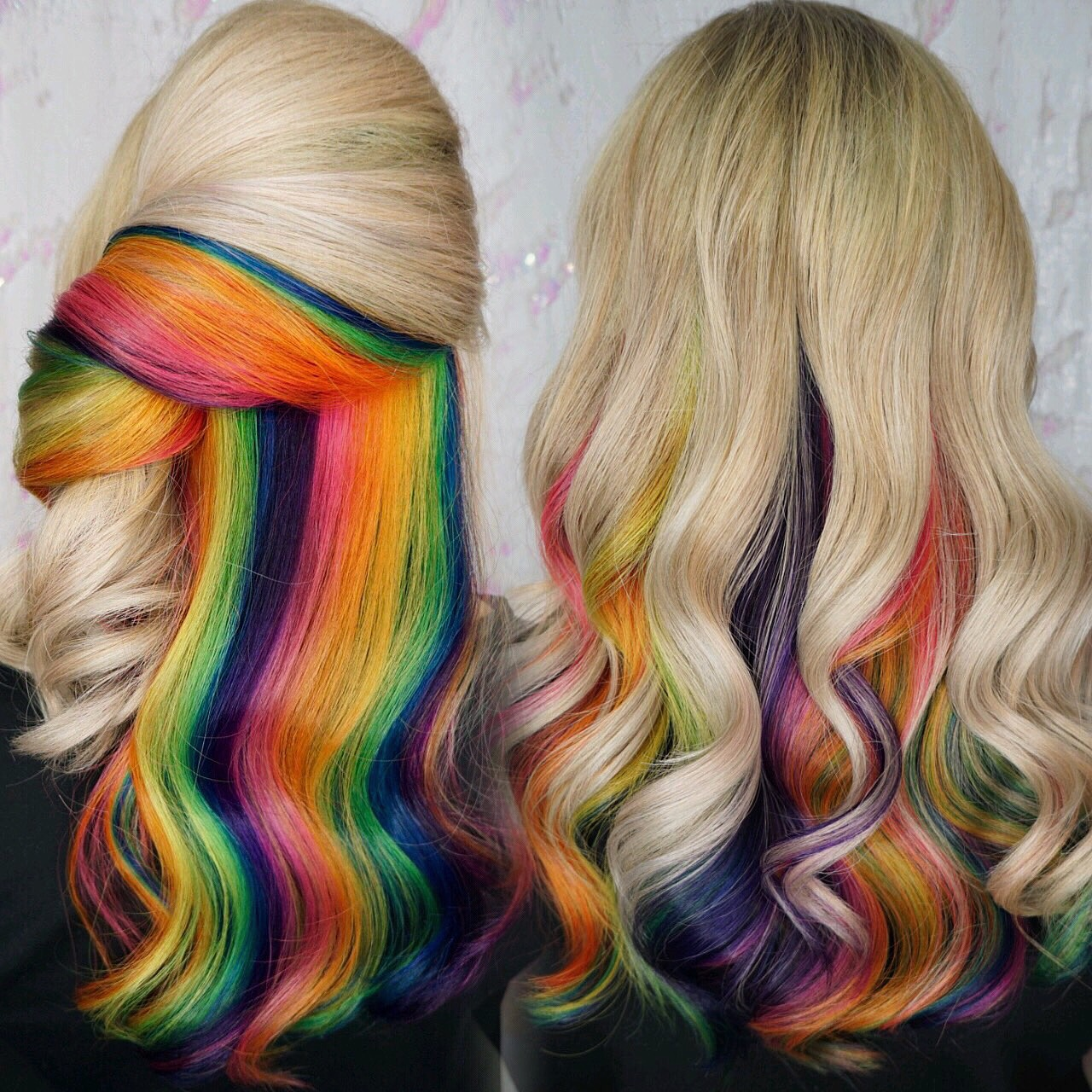 Hidden Rainbow Hair-Cryistal Chaos