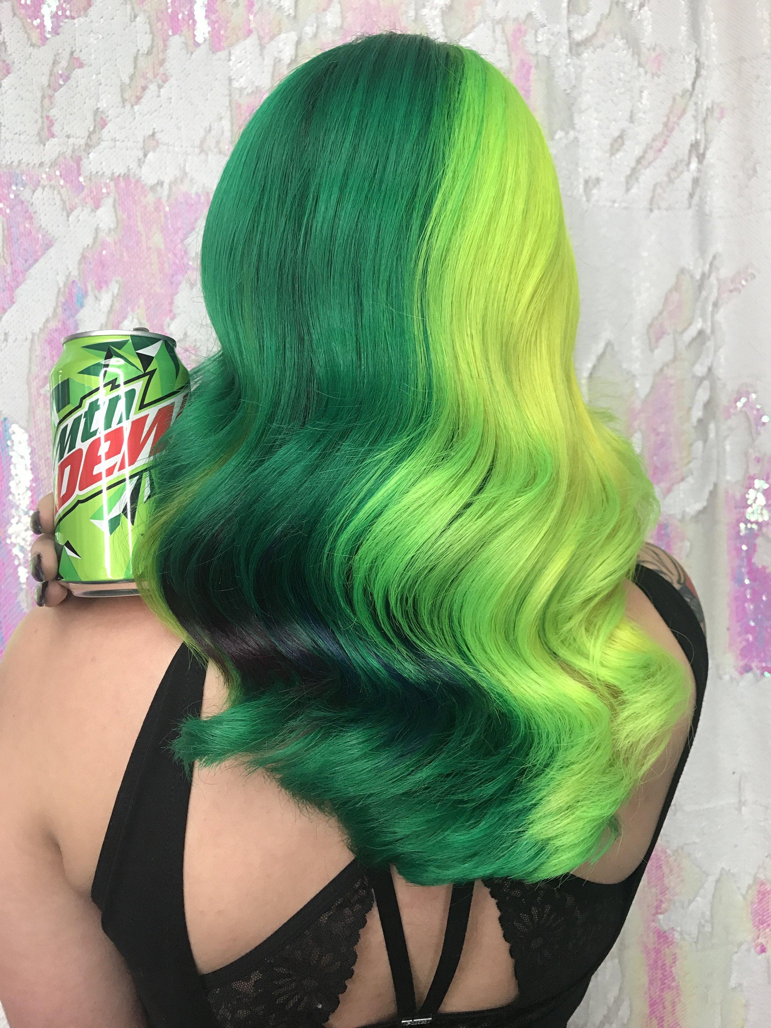Neon Haircolor- Cryistal Chaos