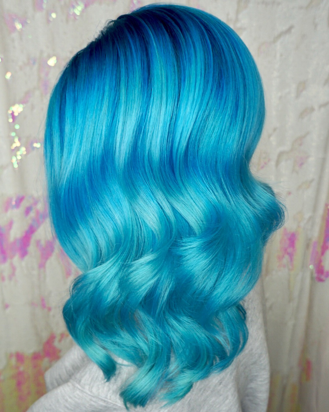 Powder Blue Haircolor