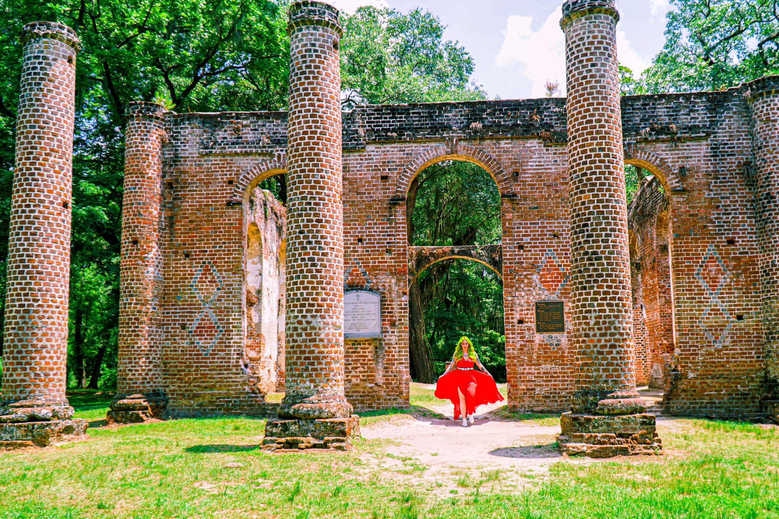Old Sheldon Church Ruins South Carolina- The Chaos Collective