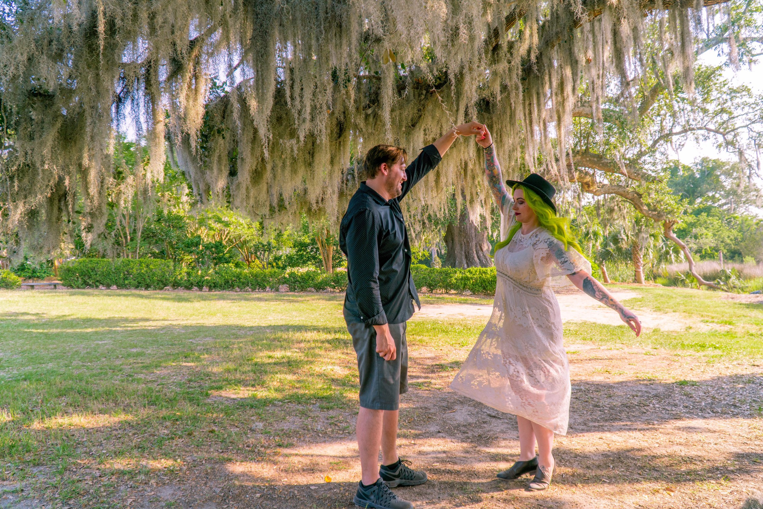 Hall of Oaks- Boone Hall Plantation- The Chaos Collective