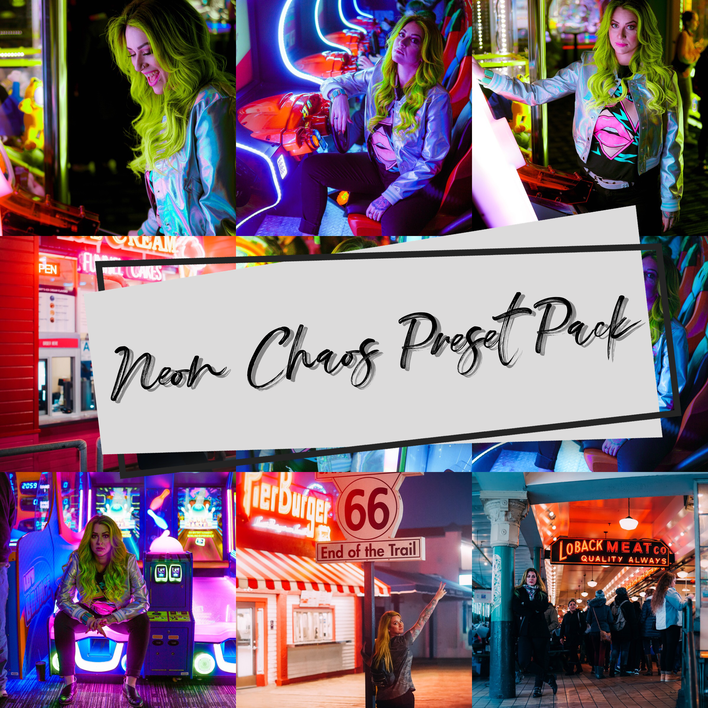 Neon Chaos Preset Pack- The Chaos Collective