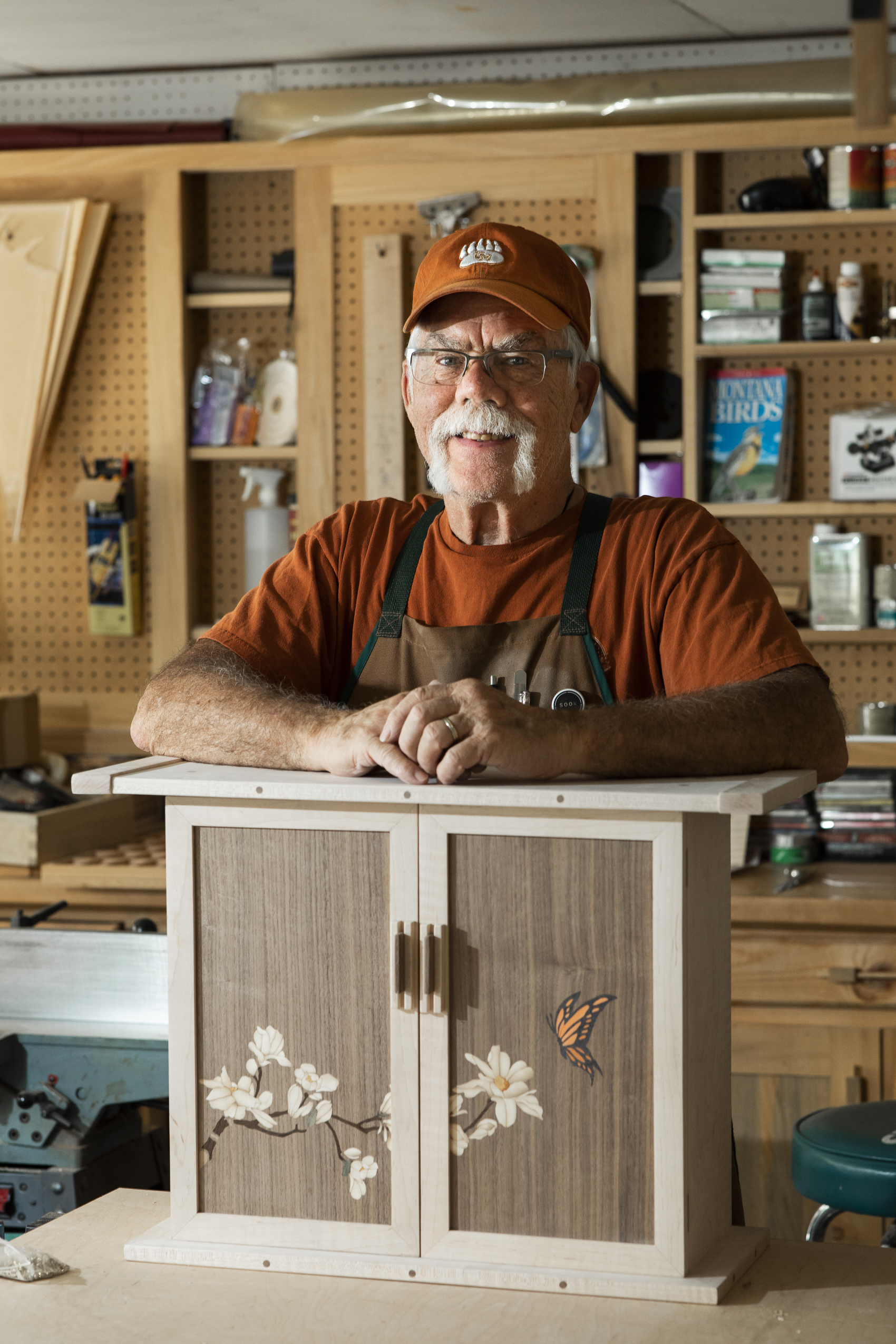 """Marquetry is an art form that offers me infinite varieties of creative and personal expression ."" -"