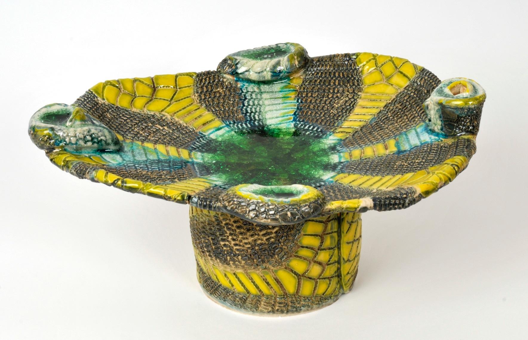 Joseph Frye, Yellow sculpture 2.jpg