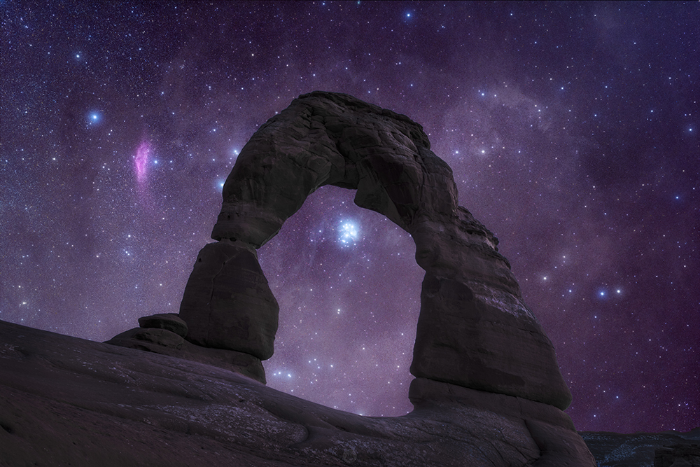Pleiades Delicate Arch reduced.jpg
