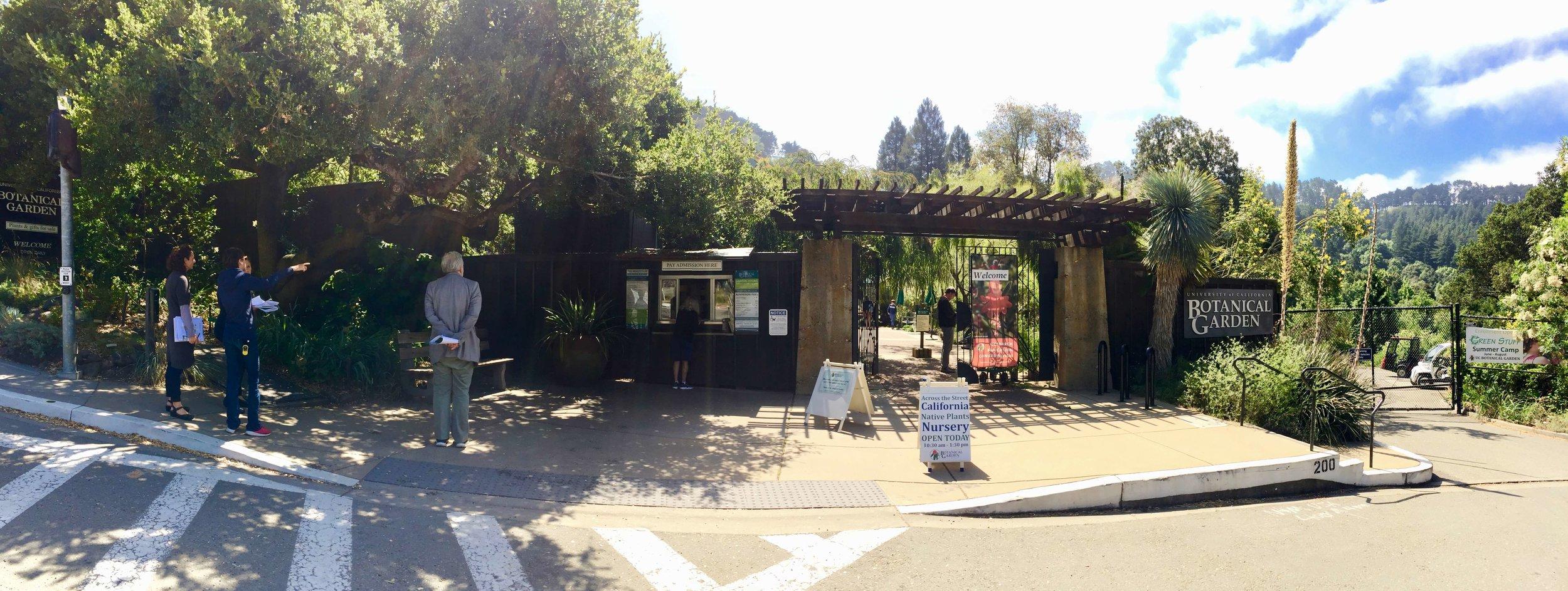 1-University of California Botanical Garden at UC Berkeley-The Sibbett Group-Greenhouse-Entry Gate.jpg