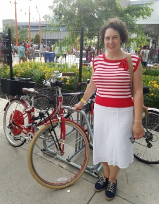 Me with my  Public Bike  outside  Lawn on D , South Boston