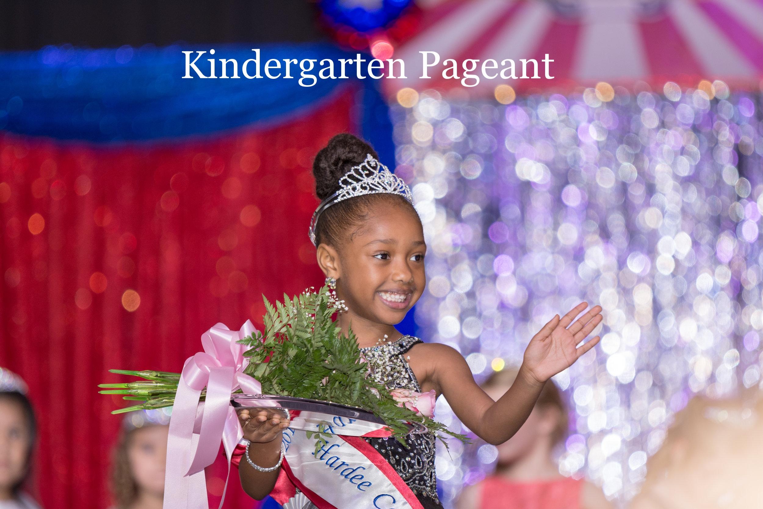 HCF2018 Kindergarten Pageant