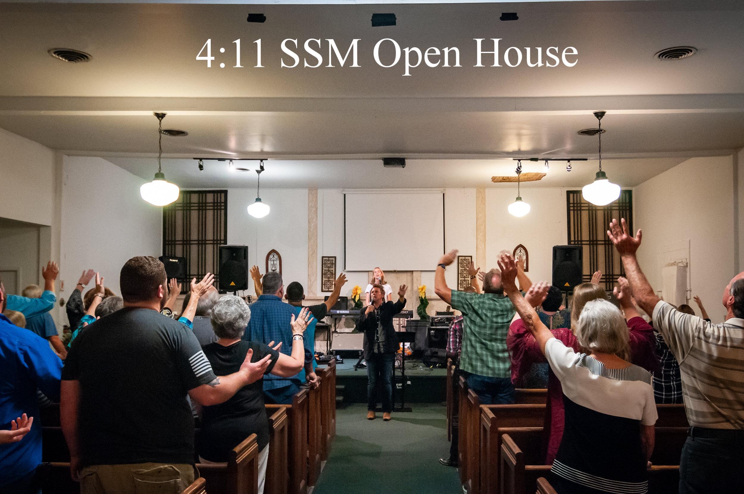 4:11 SSM Open House