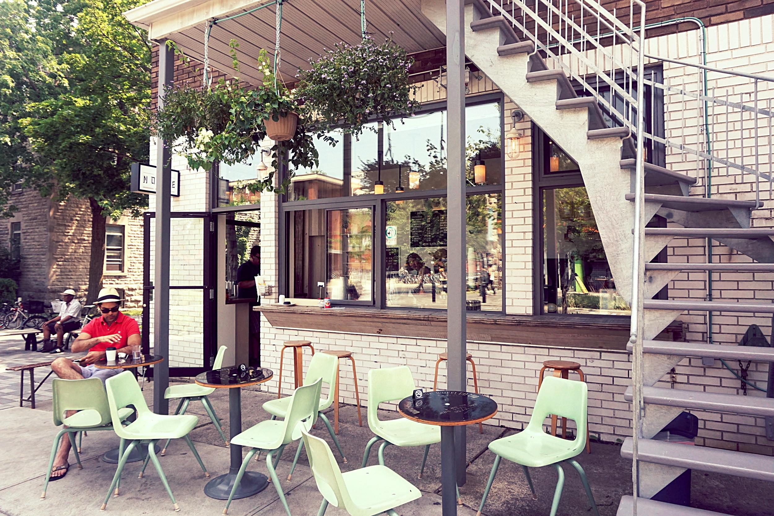 Noble Café    Address: 430 avenue Laurier E, Montréal
