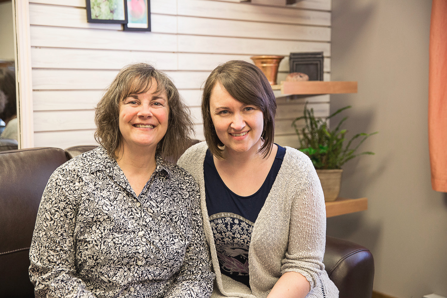 Mary Loewen, Executive Director and Dawn Bell, Administrative Assistant