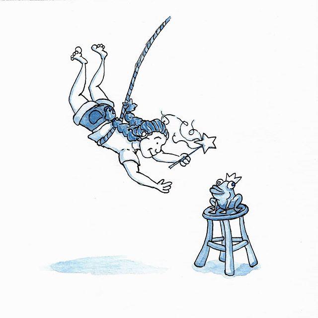 Inktober Day 8! Two posts today! Today's them was star. . . #illustration #illustratorsofinstagram #inktober2018 #inktober #star #ink #editorialillustration #childrensbooks #childrensbookillustration #bookstagram #scbwi #kidlitart #kidlit #kidlitillustrator #kidsbooks