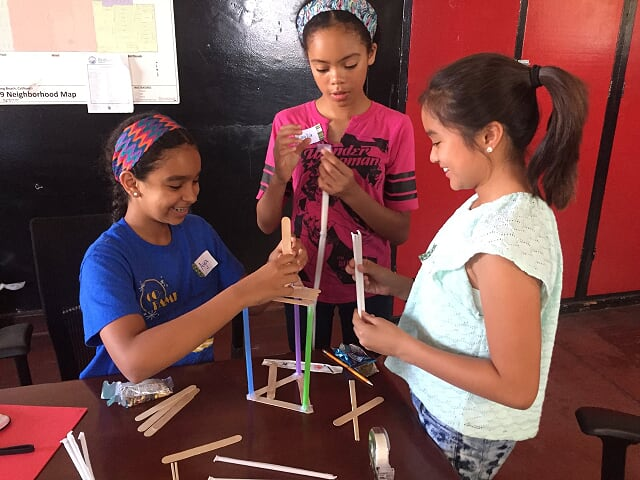Shared Science Tech Camp for Girls