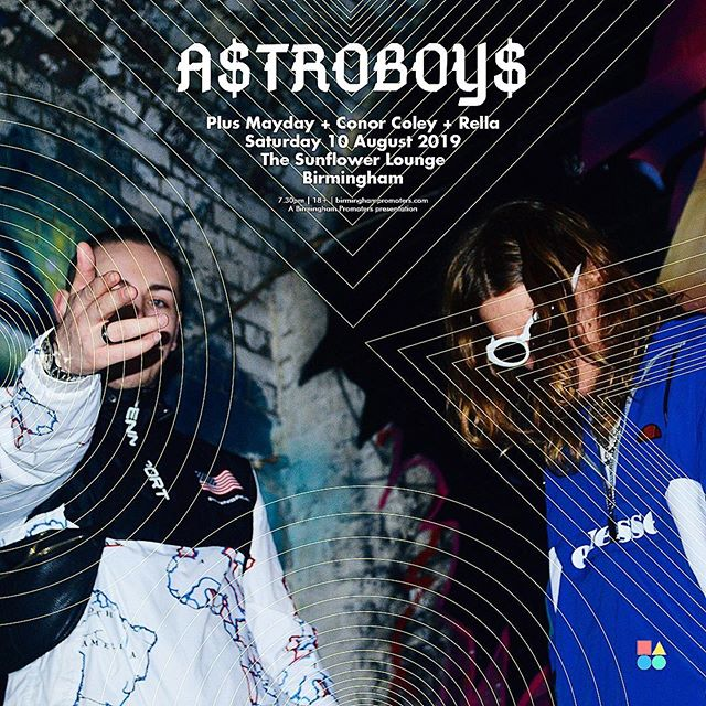 #Repost @astroboysuk ・・・ THE 10TH OF AUGUST WE WILL BE PLAYING AT @THE SUNFLOWER LOUNGE IN OUR FIRST HEADLINE SHOW!  SUPPORTED BY;  @maydaymayo - BIRMINGHAMS RISING GRIME STAR  @conorcoley_ - R&B PRODIGY WITH HIS DARK SOULFUL SOUND @rellamusicx - THE HARDEST CHICK IN GRIME  THANK YOU @BIRMINGHAMPROMOTERS FOR HAVING FAITH IN US & GIVING US THIS OPPORTUNITY!  WE WILL BE PLAYING TRACKS OF OUR NEXT MIXTAPE 'APOCALYPSE', COME DOWN AND SUPPORT US AS WE CONTINUE OUR JOURNEY  TICKETS ARE £7 AND CAN BE PURCHASED THROUGH THE TICKET LINK IN OUR BIO OR DIRECTLY FROM US  CONTACT US AND GET YOUR TICKETS NOW! THIS SHOW IS GONNA BE ONE TO REMEMBER