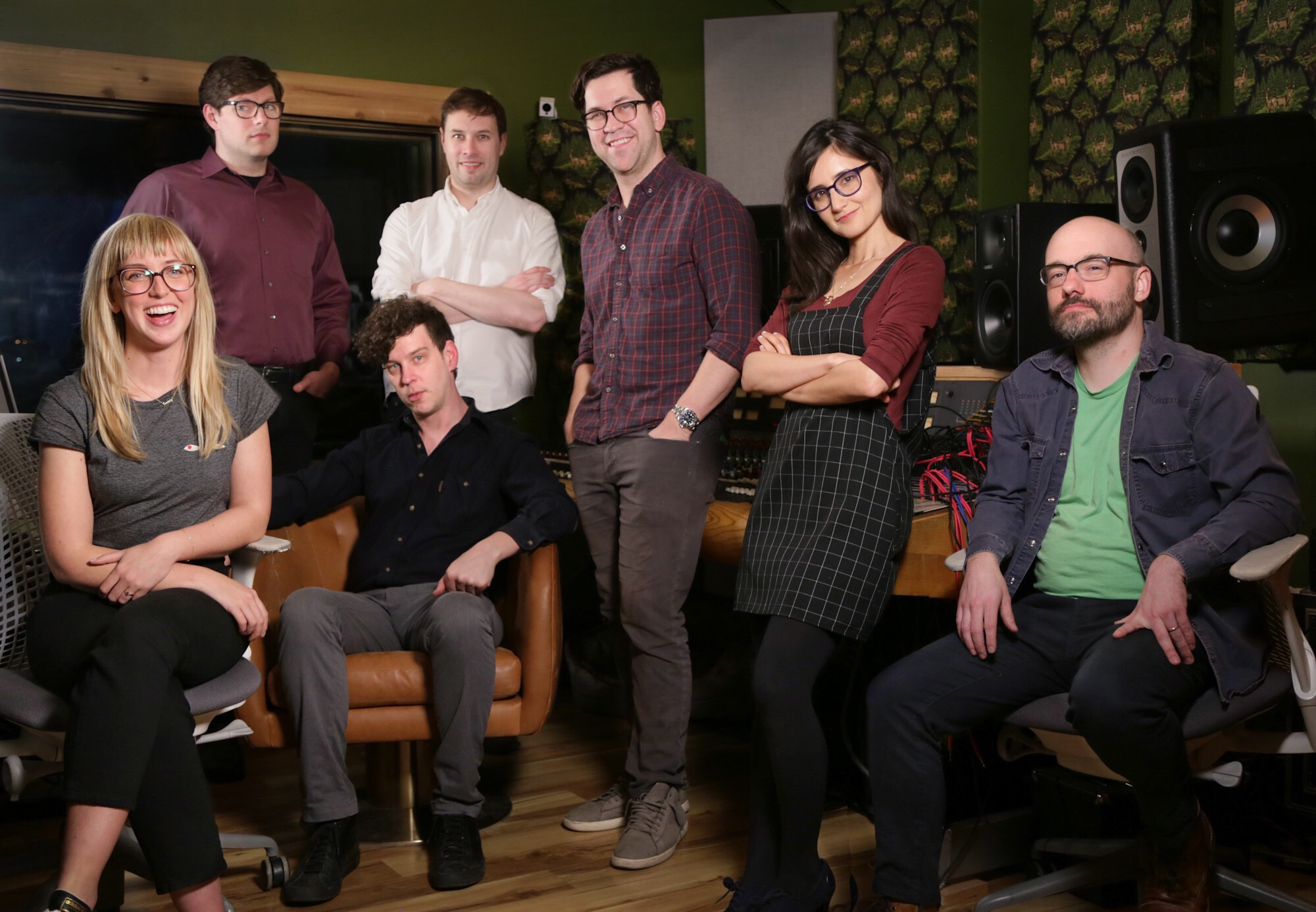 Mission to Zyxx   creators Allie Kokesh, Jeremy Bent, Shane O'Connell, Winston Noel, Alden Ford, Moujan Zolfaghari and Seth Lind.