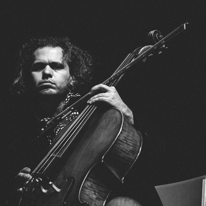 Rubin Kodheli - Composer and cellist Rubin Kodheli has been blending threads of rock, jazz and classical influences throughout the New York scene for over twenty years. Albanian-born and Julliard-trained, His unique approach has led to extensive collaborations across the musical spectrum, including with experimental luminaries Laurie Anderson and Phillip Glass, Pulitzer-prize winning jazz composer Henry Threadgill.FACEBOOK / INSTAGRAM / WEBSITE