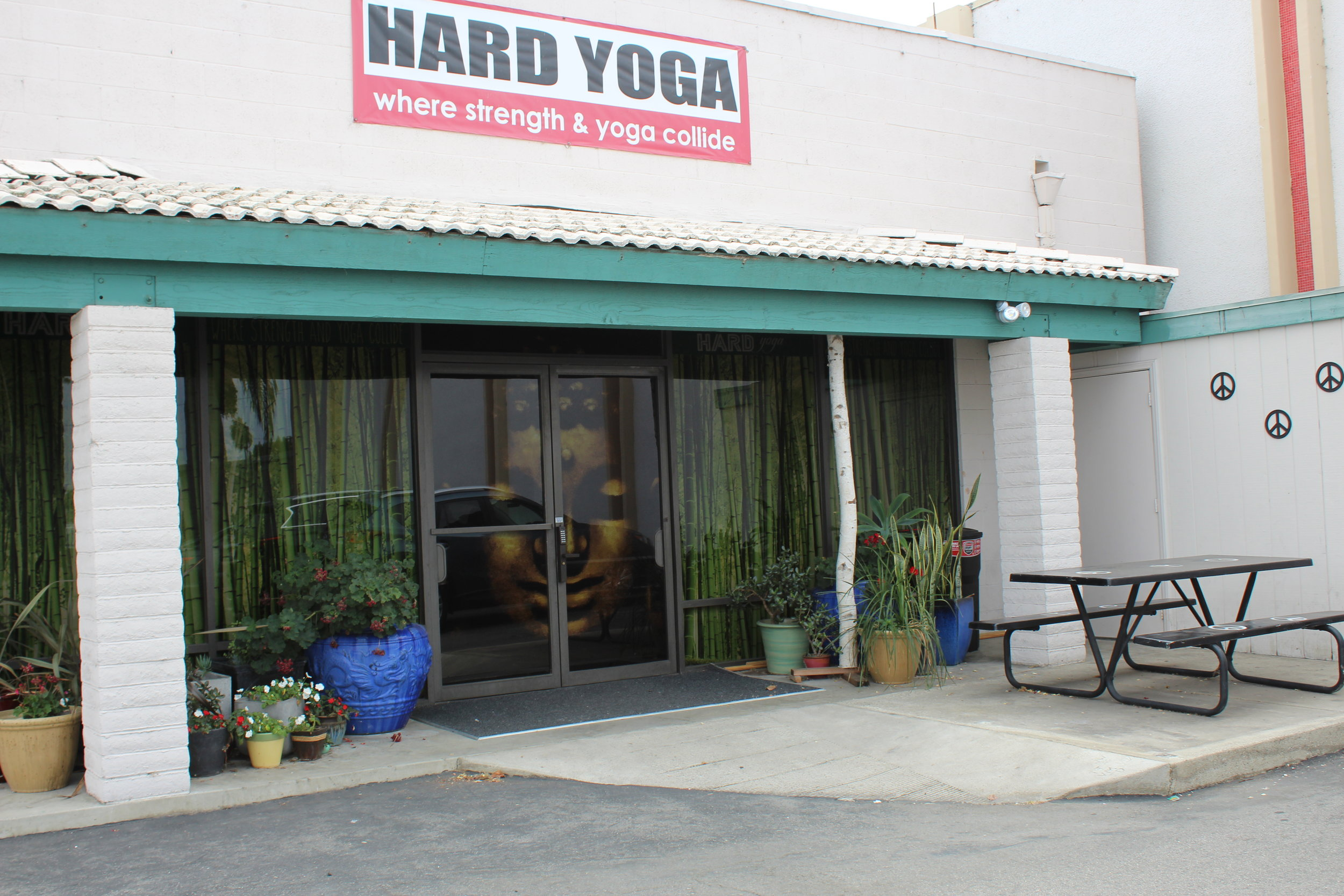 HARD yoga private Entry