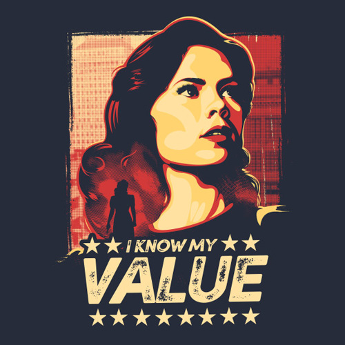 Inspiration from the formidiable Peggy Carter (if you haven't watched Agent Carter, do yourself a favor and binge watch this weekend!)