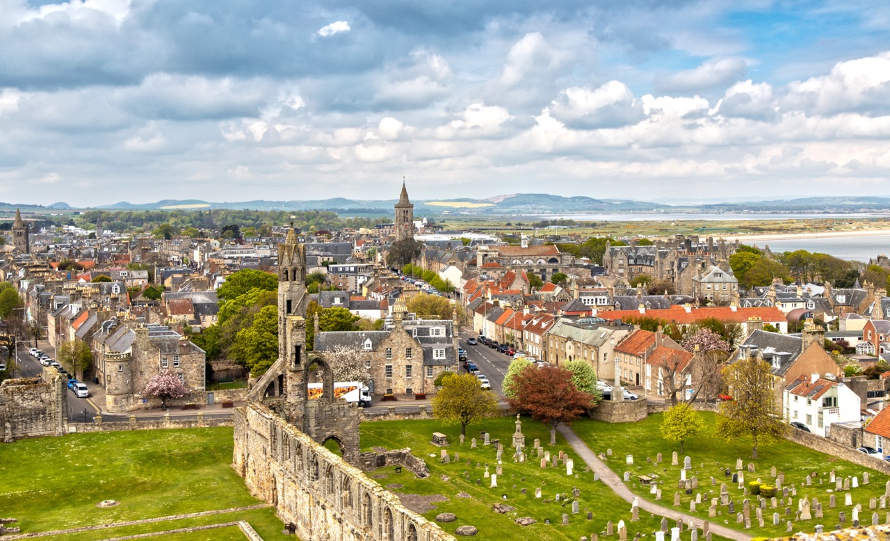 Aerial View over St Andrews in Scotland.jpg