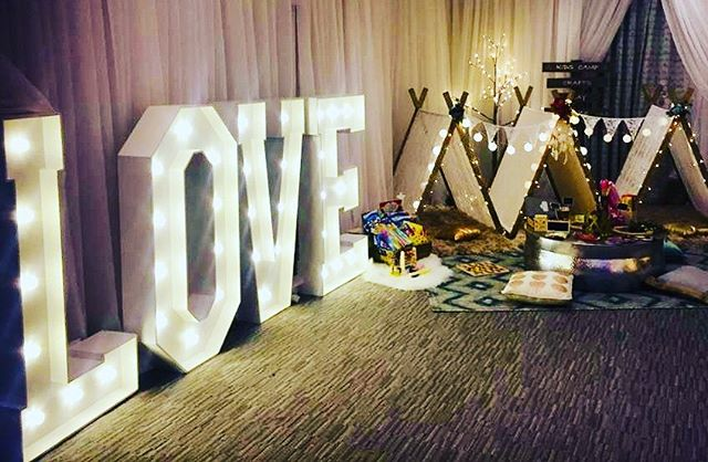 A lovely set up at the stunning Alexander House. We love The Little Tents! #wedding #bridegoals #kidsatweddings #somethingdifferent #specialday