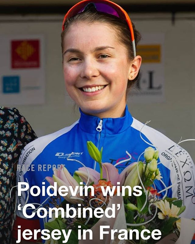 Congrats to Camp8 coach Sara Poidevin for putting it on the line in the Tour de l' Ardeche and winning the 'Combined' jersey in France. Results happen when we step into the discomfort zone and see what the body and mind are capable of.