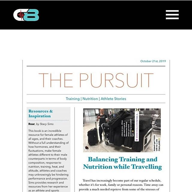 The latest edition of The Pursuit is up on our website: camp8ltd.com/blog Happy Monday!