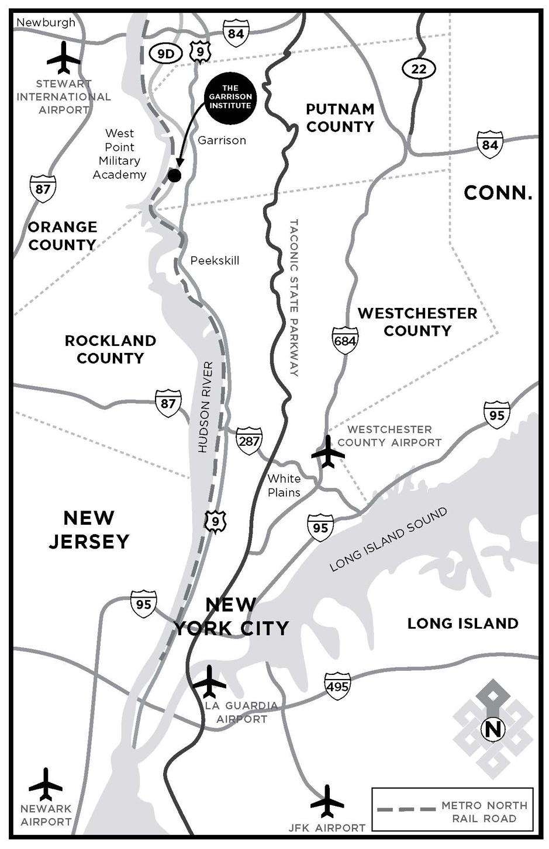 Garrison Institute Map