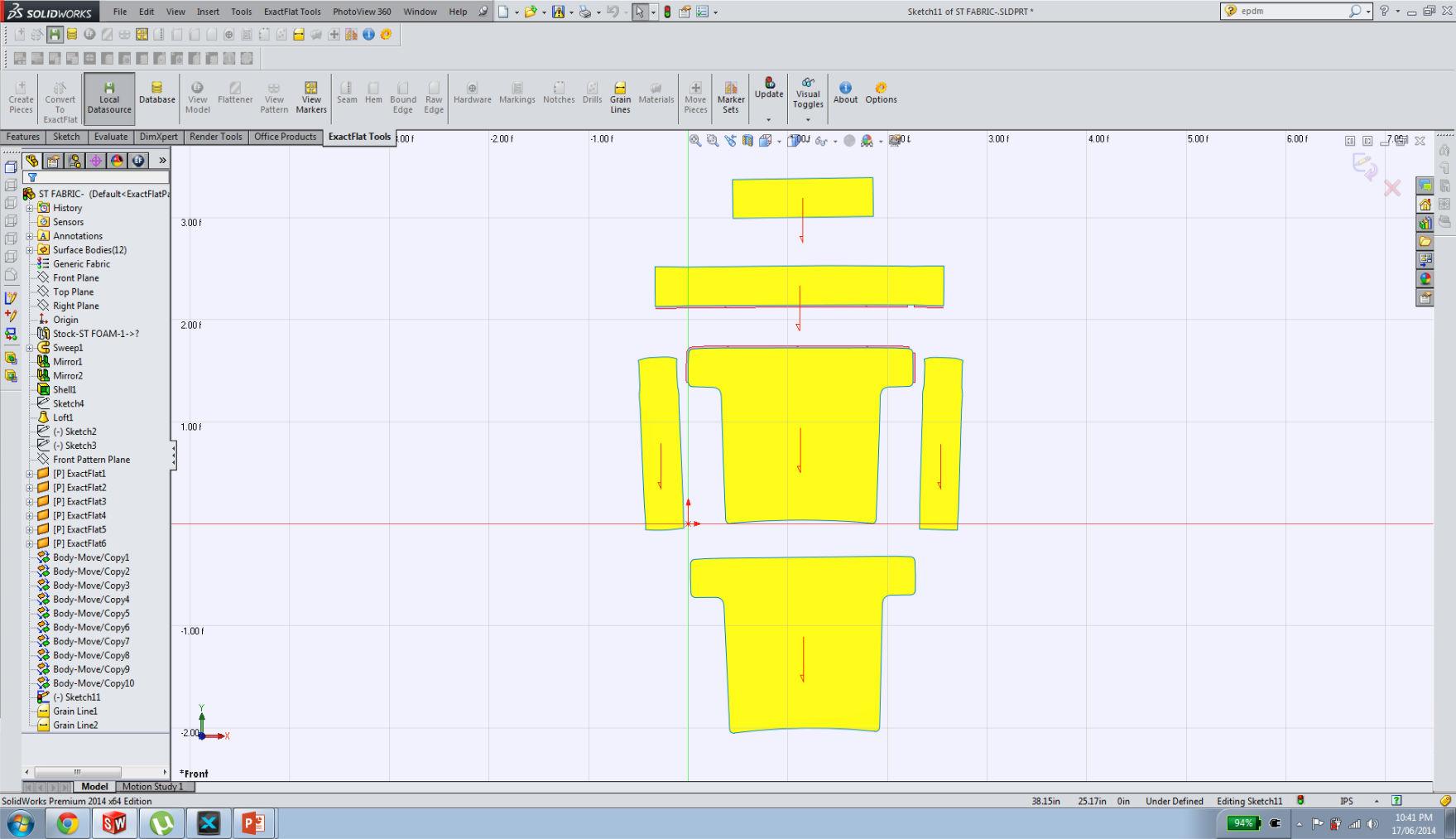 Solidworks Chair Fabric Digital Patterning.jpg