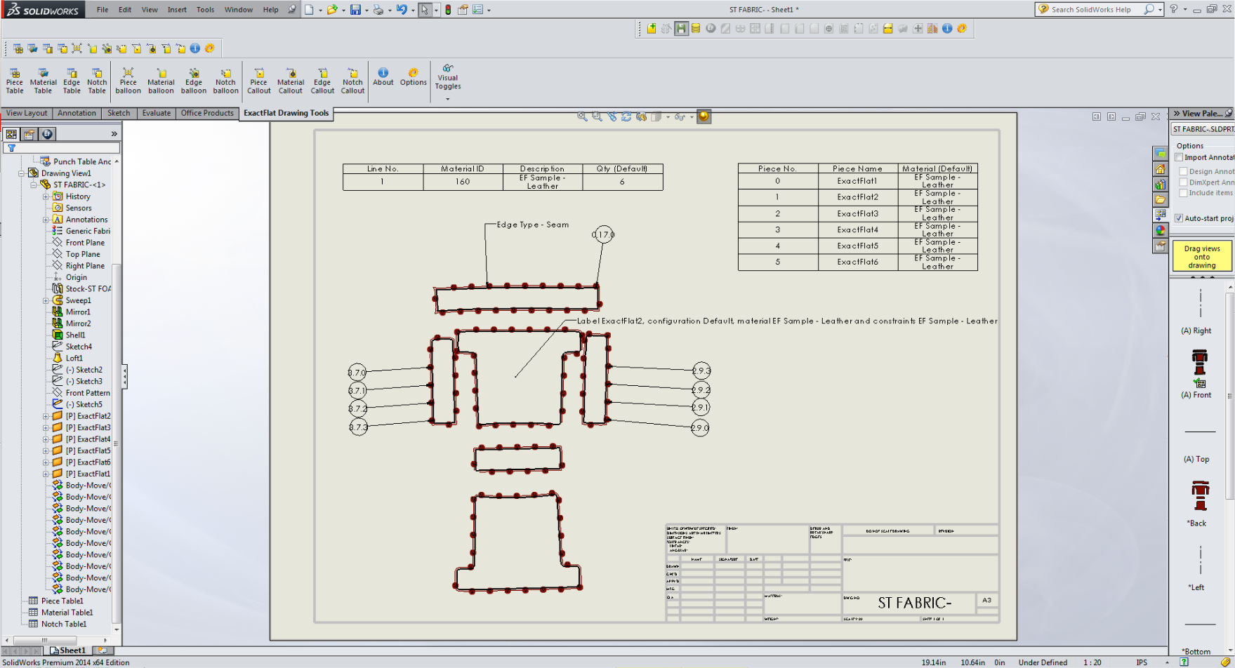 The digital model includes 3D representation, CNC files, Production-ready patterns and all of the related drawing and assembly information for this part. Click on the image to see the process in action.