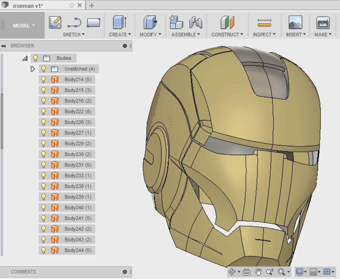 Ironman face 3D Design.JPG