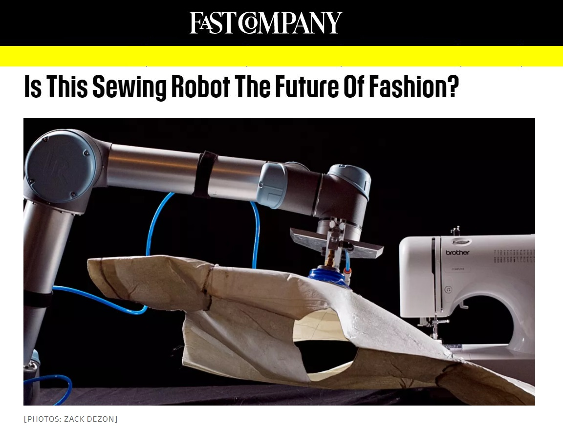 The advantages of automated sewing machines are coming. Digital patterning software is here now and offers a similar leap forward in productivity. Click on the image to learn more.
