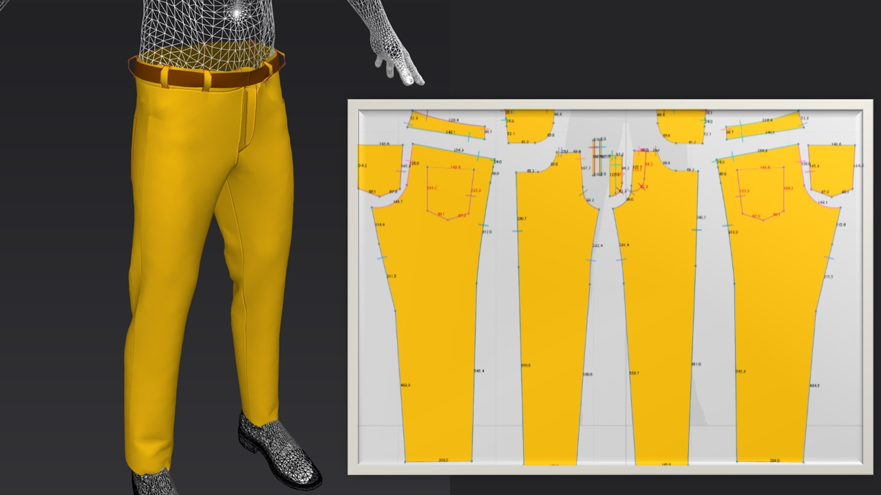 No 3D CAD Experience? No problem. Fashion templates incorporate all of the design and production information needed. Just update the measurements or select new style details and the software creates new patterns in a matter of minutes.