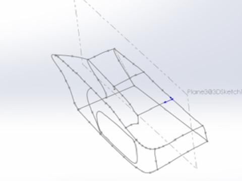 2. Cut line instructions are included in the STO. These are used to segment the 3D model into 3D Pieces.
