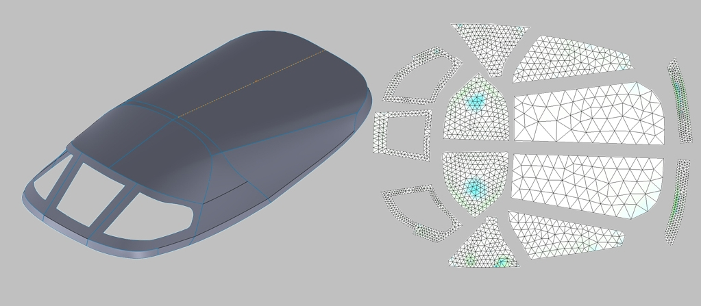 By utilizing 3D design and digital patterning, marine canvas manufacturers can save days and in some cases weeks on every project. Click on the image to see the solution in action