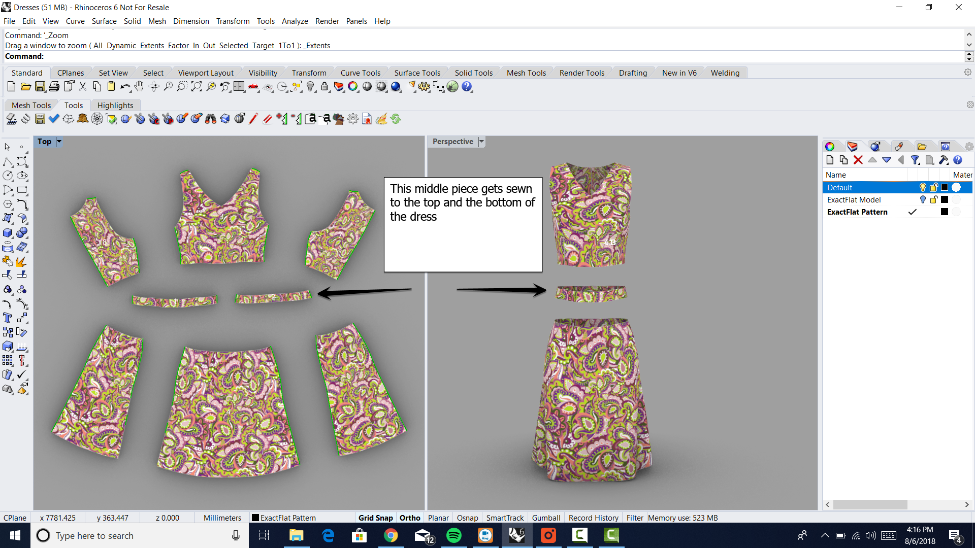 Patterns In Minutes 3d Dress Making Digital Patterning For Industry Professionals Digital Patterning For Industrial Fabrics