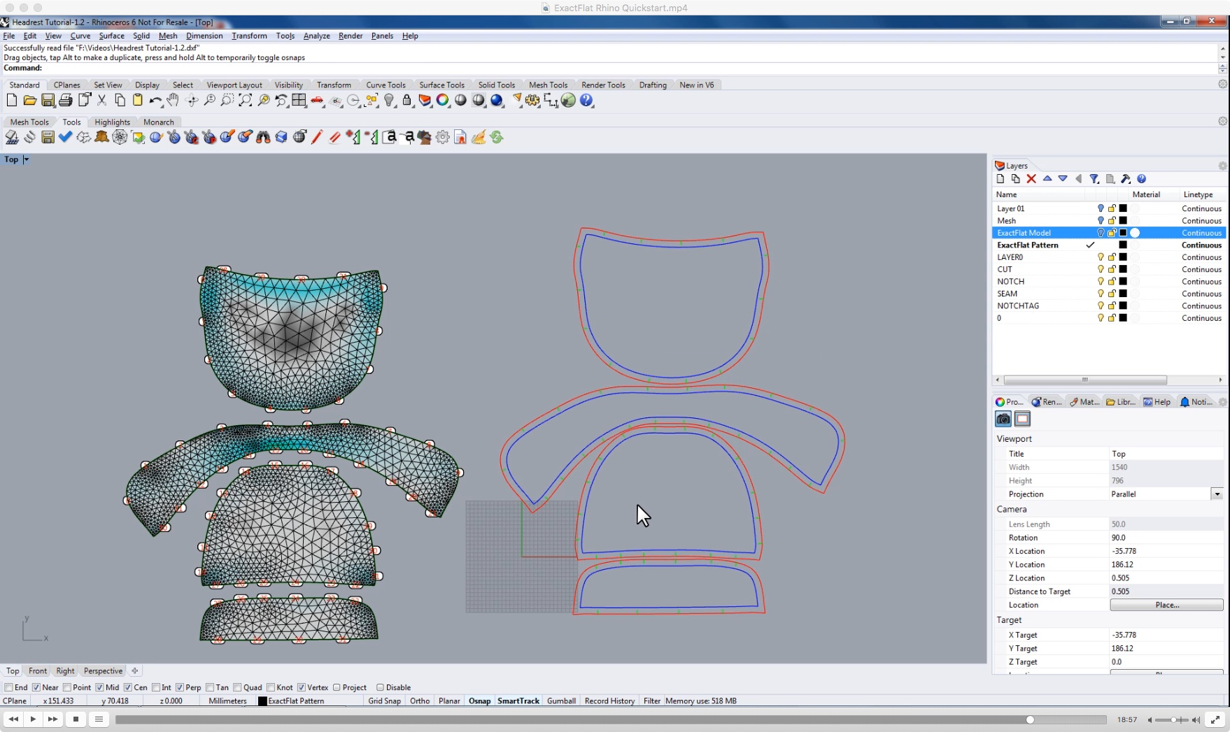Using the entirely digital process, convert scans into 3D surfaces and then to 2D pattern pieces in record time.