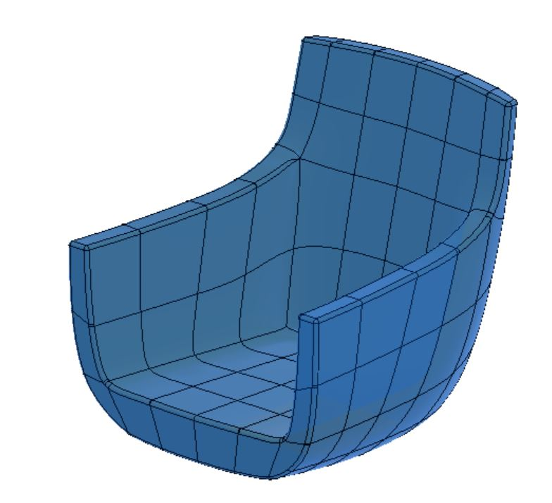 Seam locations and materials are applied to the 3D model and then the 3D to 2D flattening is done. Click on the image to learn more.