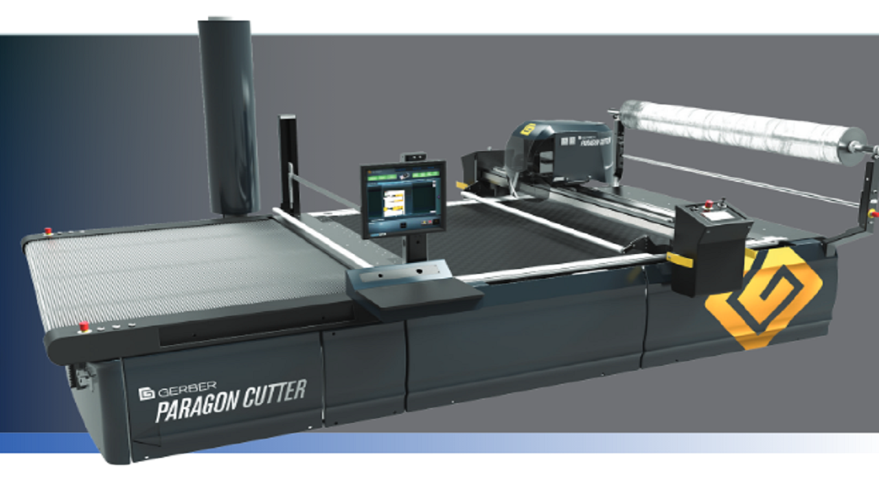 Automated cutting and piece labeling equipment like the Paragon and GERBERcutterZ1 cutters available from Gerber Technology utilize the marker sets generated by ExactFlat. Closing the gap between design and production.