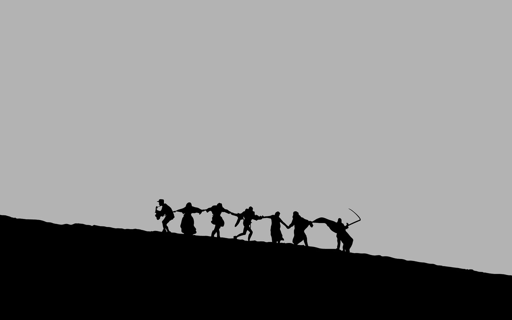 A famous shot from Bergman's  The Seventh Seal.