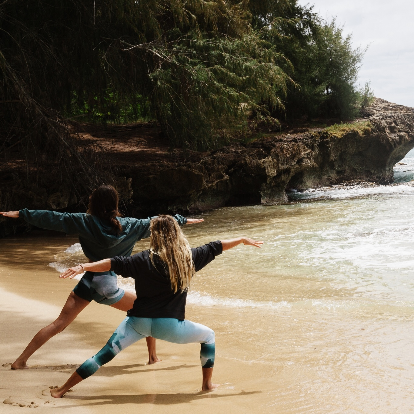 Additional Offerings - - Excursions for experiencing beautiful Kauai including waterfall hikes and beach days- Lomi Lomi deep healing massage- Private yoga instruction from Courteney- Personal oracle reading WITH JILL