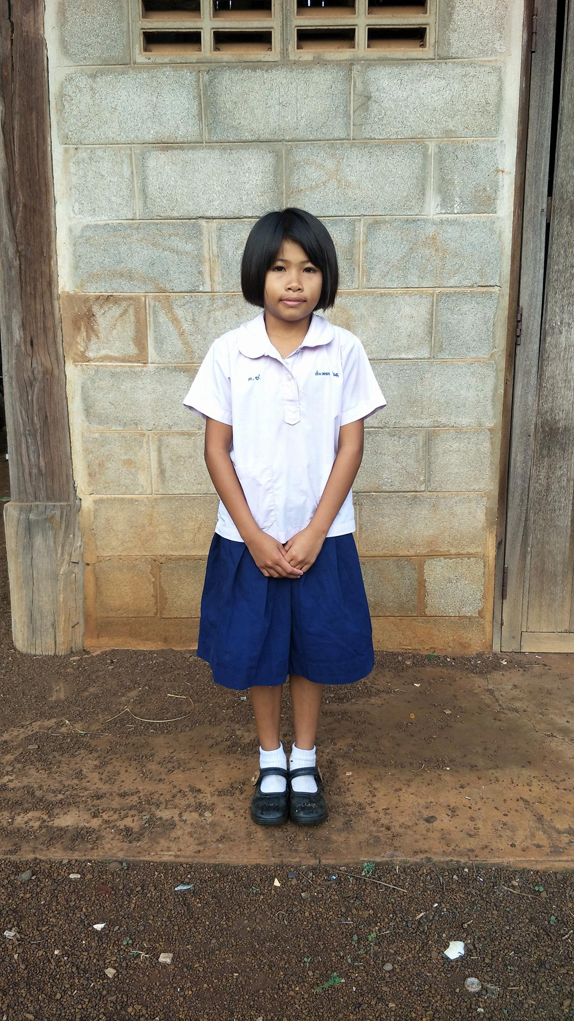 Chanawan (8 years old, Girl)