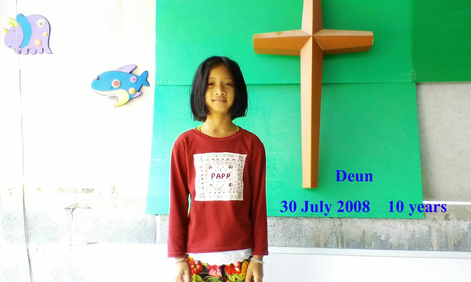 Deun (10 years old, girl)