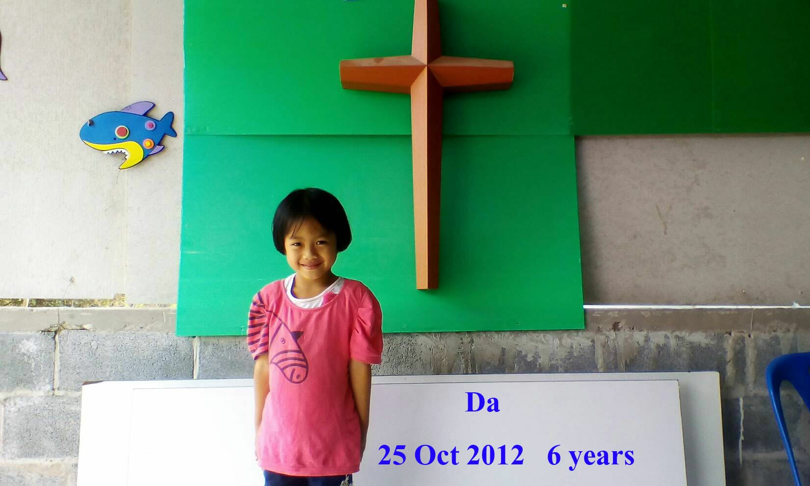 Da (6 years old, girl)