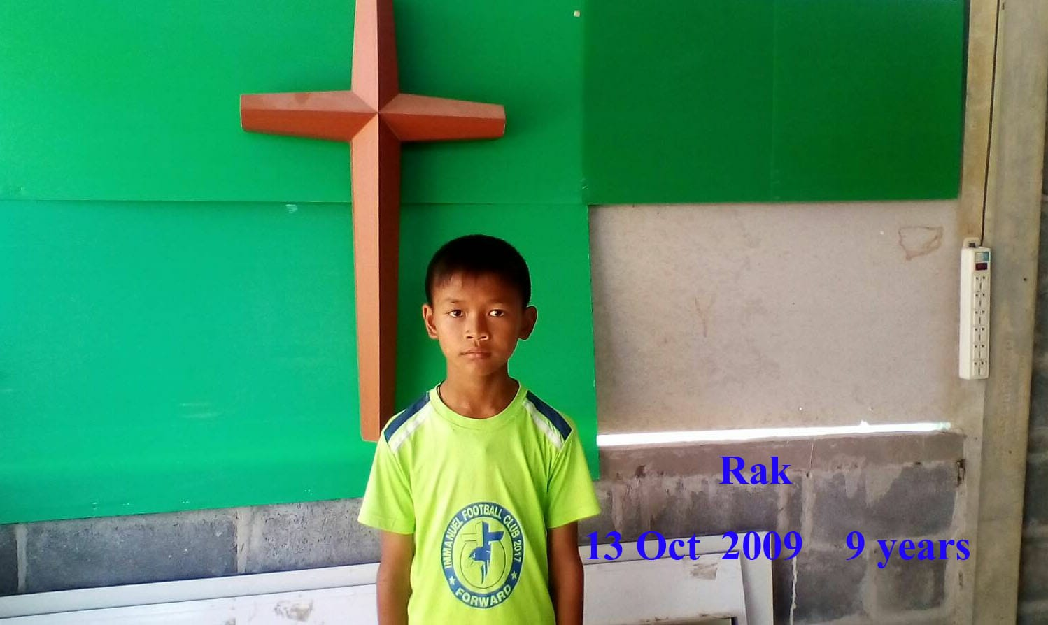 Rak (9 years old, boy)