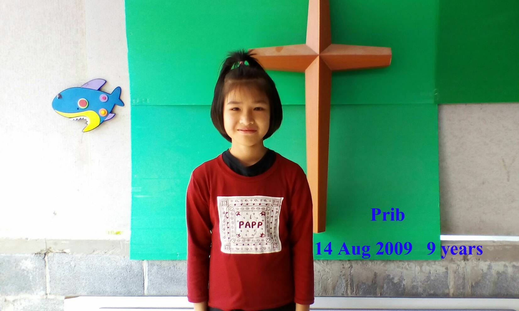 Prib ( 9 years old, girl)