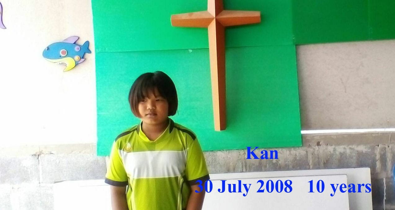 Kan (10 years old, boy)